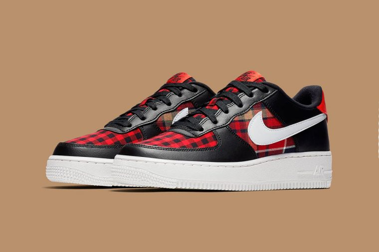Nike's Air Receives Plaid TreatmentUpcoming Sneaker Force The 1 CxBedo