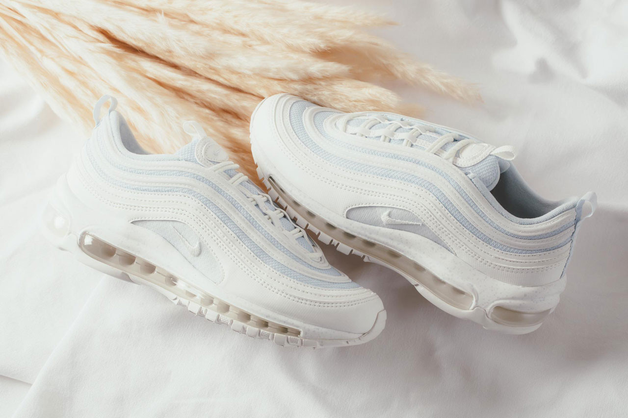 premium selection 68b53 2ce09 Nike Decorates The Air Max 97 With Light Blue Highlights