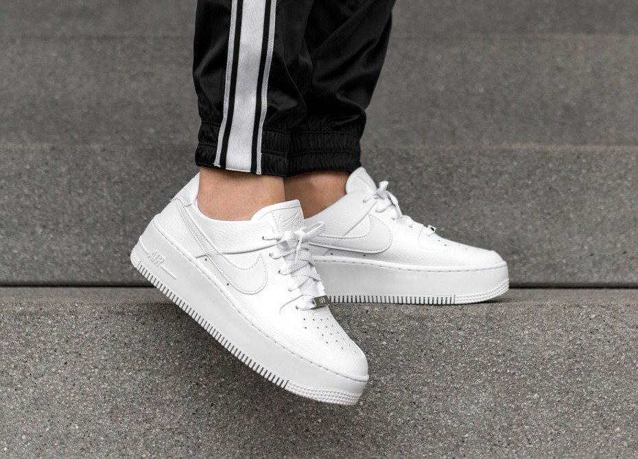 huge discount 499fb ce58b Nike Air Force 1 Sage Low White  AR5339-100  The Sole Womens
