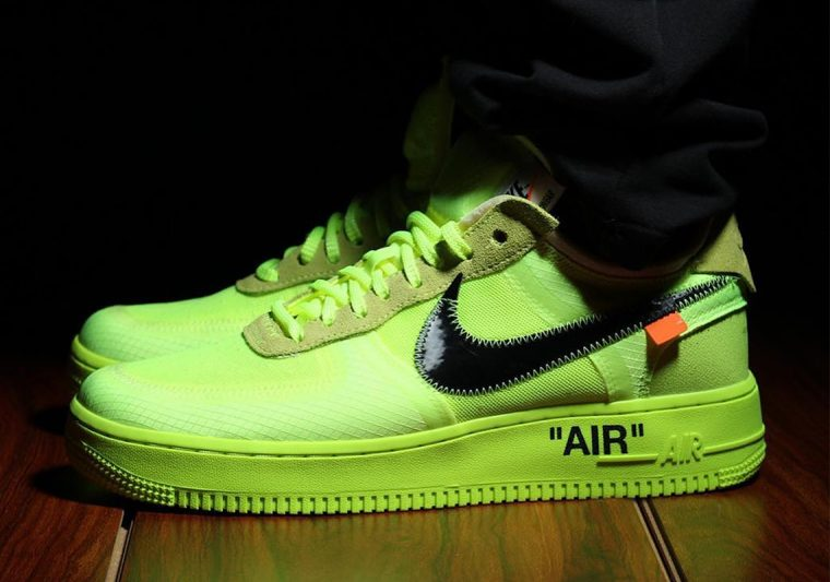 A Closer Look At The Off-White x Nike Air Force 1