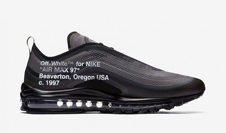 Off-White x Nike Air Max 97 'Black'