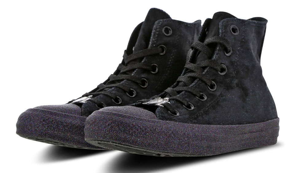 bfd12a08b6ac Converse X Miley Cyrus Chuck Taylor All Star Hi Velvet - Women Shoes