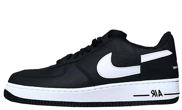 reputable site 68203 002aa Supreme x Comme des Garcons x Nike Air Force 1 Low Black White