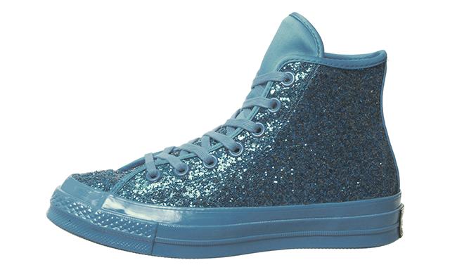 Converse All Star Hi 70 Blue Glitter