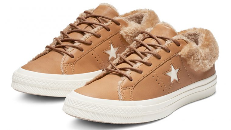 mínimo Copiar equivocado  Converse One Star Street Warmer Leather Low Top Brown | 162603C | The Sole  Womens