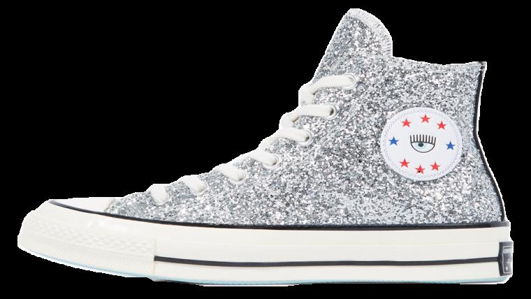 Converse x Chiara Chuck 70 Glitter High Top Black Silver | 563831C thumbnail image
