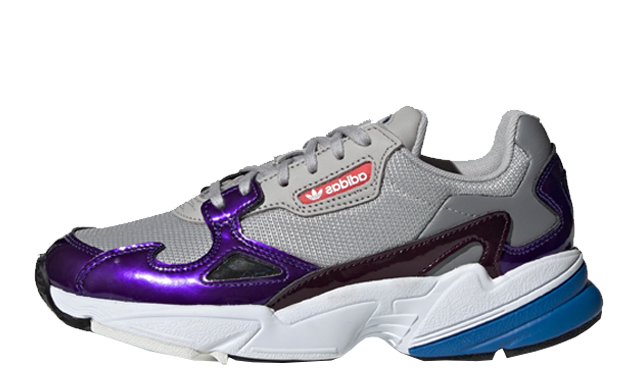 adidas Falcon grey Purple