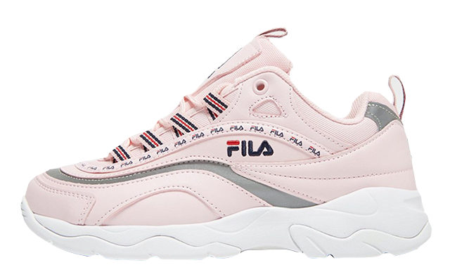 Fila Ray Pink White Womens