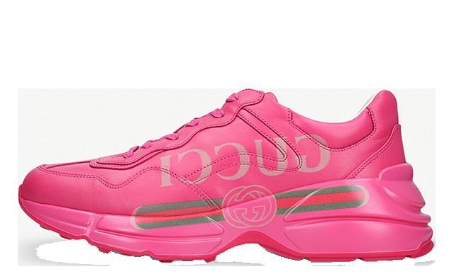 GUCCI Rhyton Logo Pink