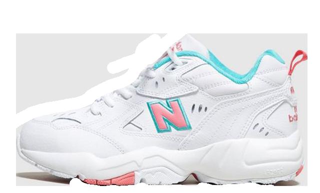 New Balance 608 White Pink