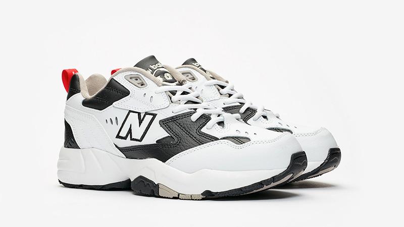 New Balance WX608 Black White   The