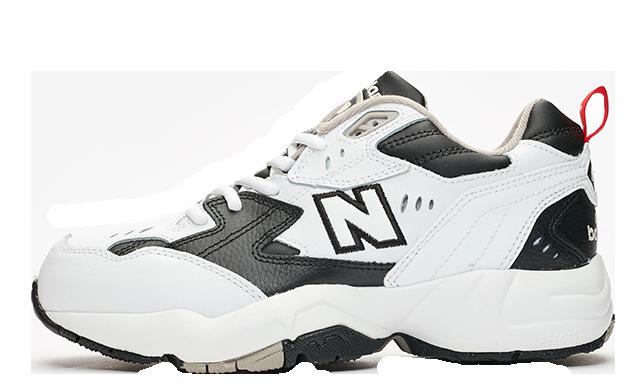 New Balance WX608 Black White