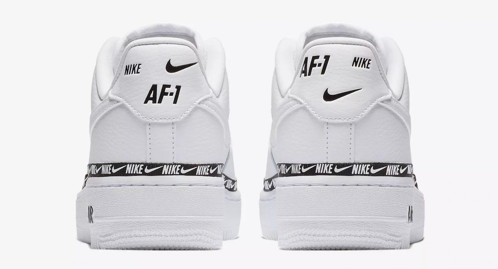 Nike Air Force 1 '07 SE Premium Ribbon Pack AH6827 101Eneste kvinder AH6827 101 The Sole Womens