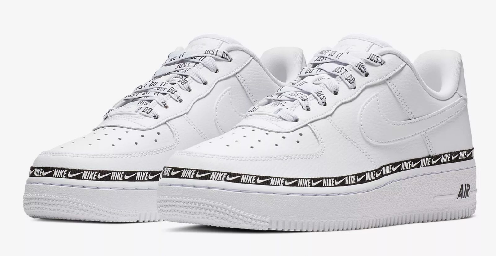 Nike Air Force 1 '07 SE Premium Ribbon Pack AH6827 101Eneste kvinder AH6827 101 The Sole Womens