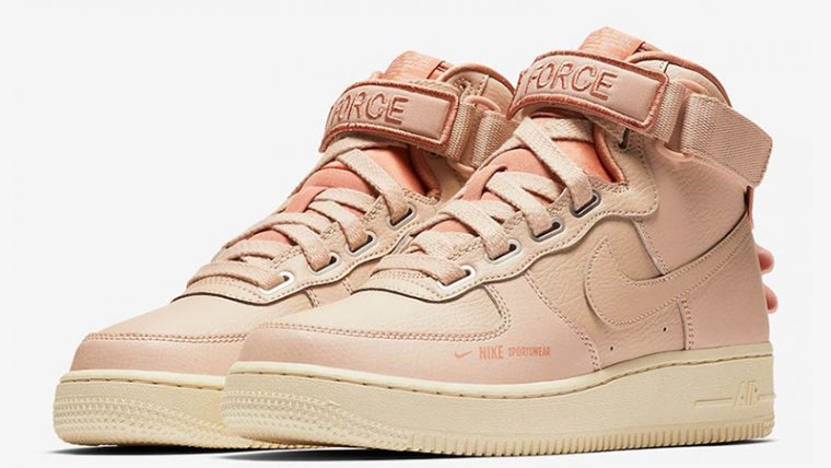 Nike Air Force 1 High Utility Particle Beige AJ7311-200 03 thumbnail image