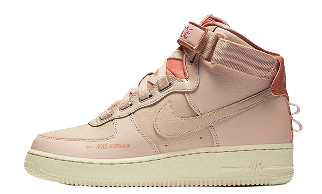 Nike Air Force 1 High Utility Particle Beige AJ7311-200 thumbnail image