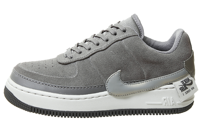 nike grey air force 1 jester trainers