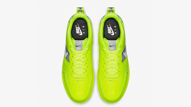 Nike Air Force 1 Utility Volt AJ7747 700Eneste kvinder AJ7747 700 The Sole Womens