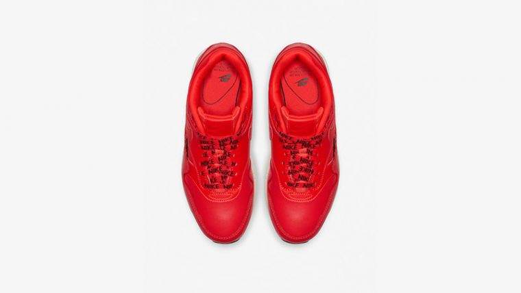 Nike Air Max 1 SE Overbranded Red 881101-602 02 thumbnail image