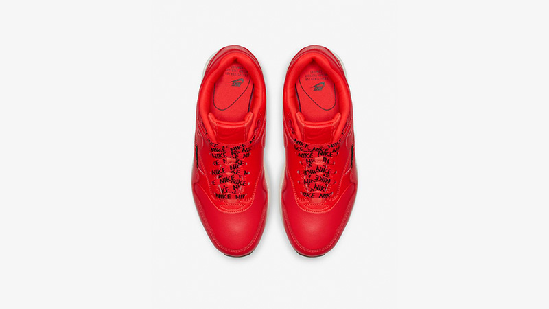 Nike Air Max 1 SE Overbranded Red 881101-602 02