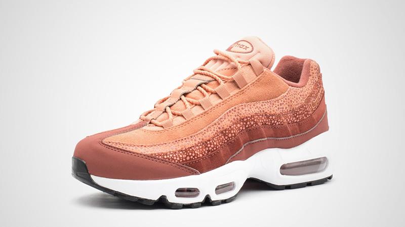 Nike Air Max 95 Burnt Orange Womens | 807443 202