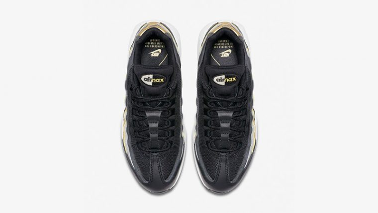 quality design 82bca a65b1 Nike Air Max 95 Lux Black Gold   BQ4554-001