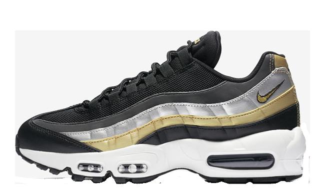 Nike Air Max 95 Lux Black Gold   BQ4554 001   The Sole Womens