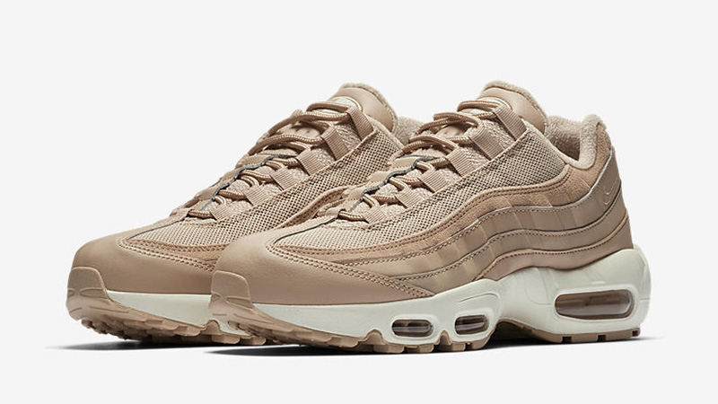 outlet store 3cde2 eef00 Nike Air Max 95 Premium Bio Beige Womens | BV0309-200 | The Sole Womens