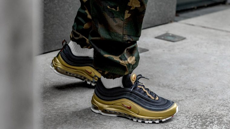 Nike Air Max 97 Black Gold | AT5458 002