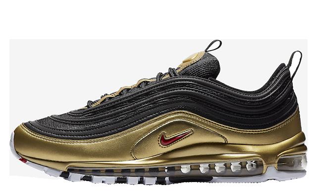 Nike Air Max 97 Black Gold | AT5458-002
