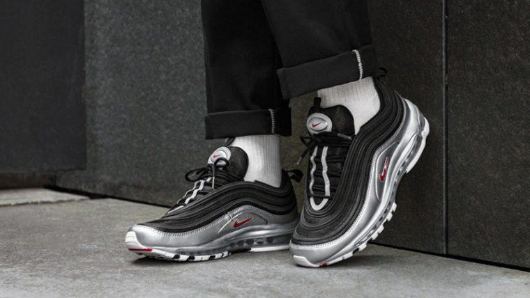 new product ecb9d ff361 Nike Air Max 97 Black Silver   AT5458-001