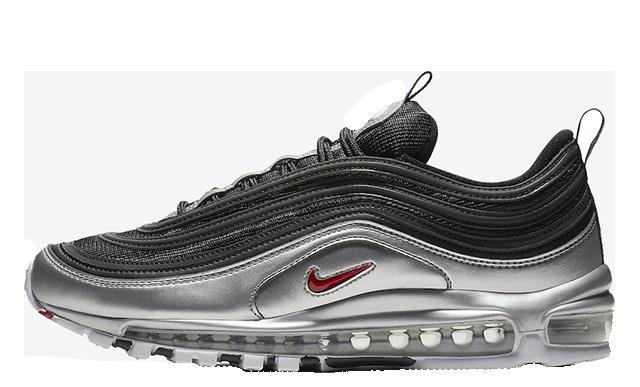 Nike Air Max 97 Black Silver | AT5458-001