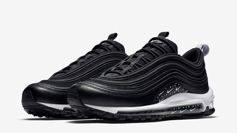 Nike Air Max 97 LX Overbranded Black | AR7621-001 | The Sole Womens
