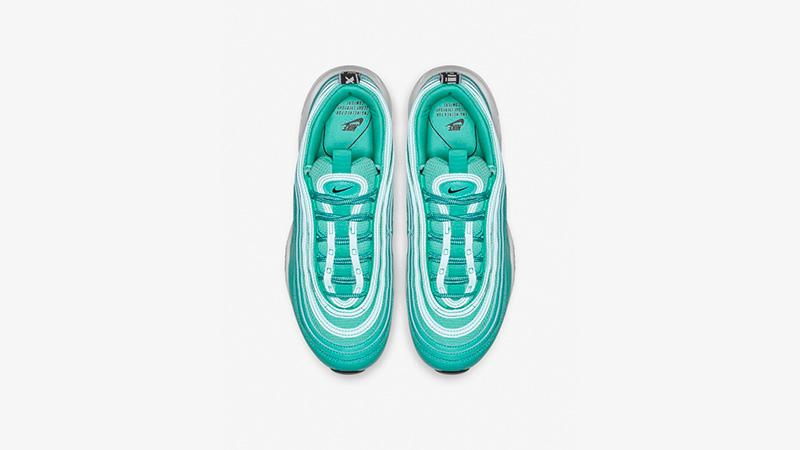 fb07bc19b5b0a Nike Air Max 97 LX Overbranded Hyper Jade   AR7621-300   The Sole Womens