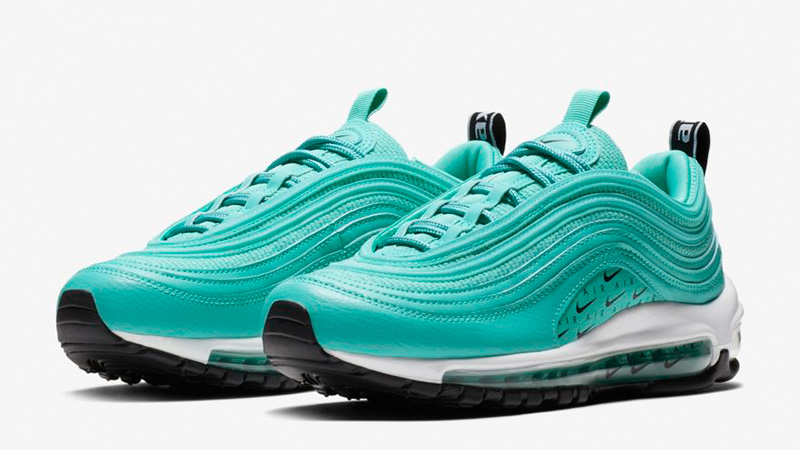 fast delivery huge discount sale retailer Nike Air Max 97 LX Overbranded Hyper Jade | AR7621-300