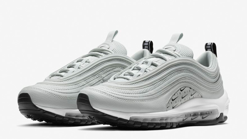 Nike Air Max 97 LX Overbranded Silver   AR7621 002