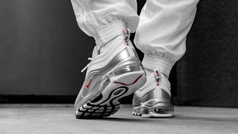 Nike Air Max 97 White Silver | AT5458-100