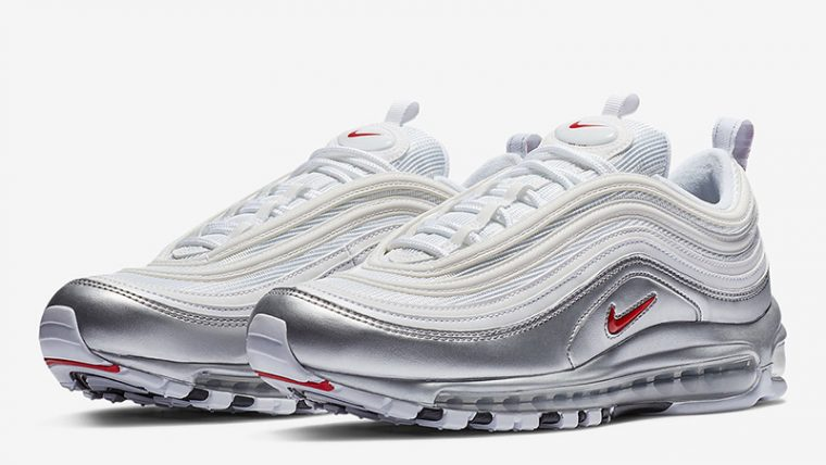 Nike Air Max 97 White Silver | AT5458-100