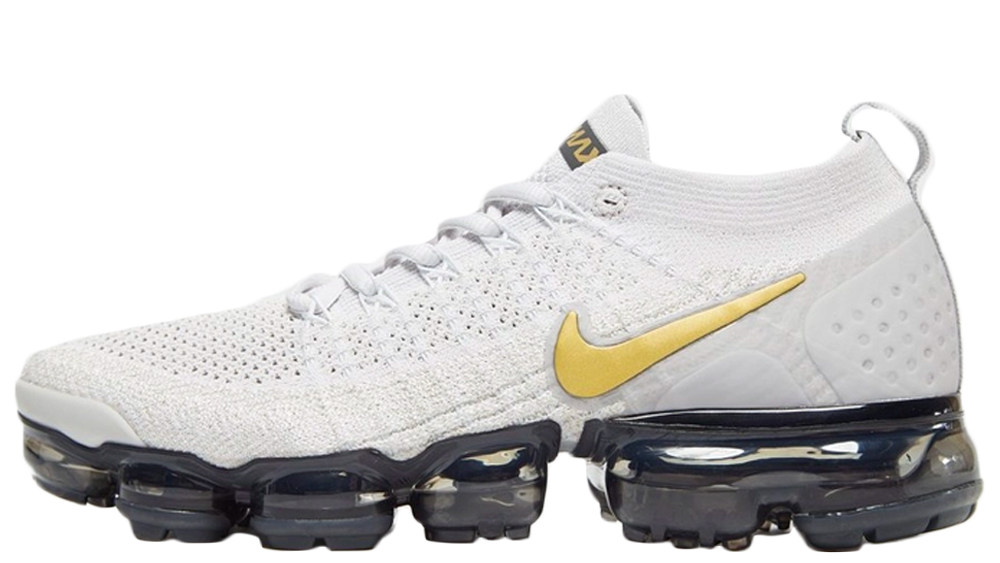"huge selection of 66c79 7f838 Nike Air VaporMax Flyknit 2 ""Metallic Pack"" 