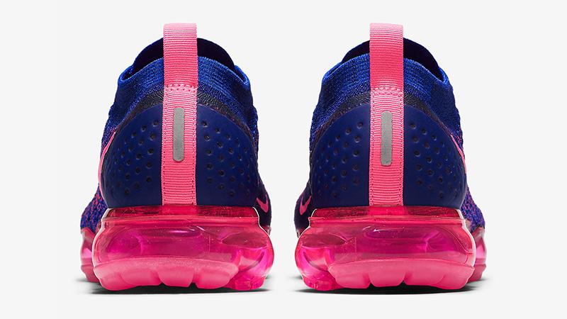 7740d0cb6a34 Nike Air VaporMax Flyknit 2.0 Racer Blue Pink