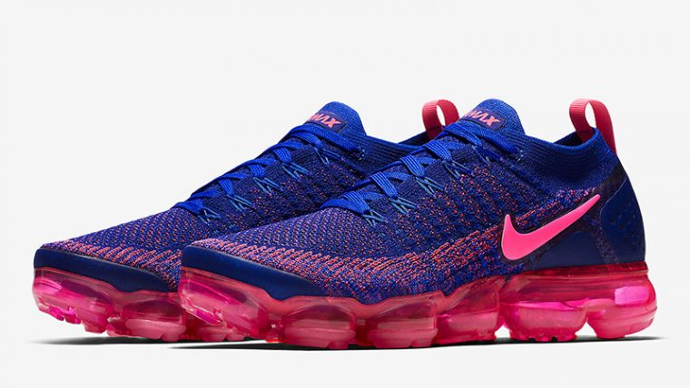 f95be8745a Nike Air VaporMax Flyknit 2.0 Racer Blue Pink | 942843-601 | The ...