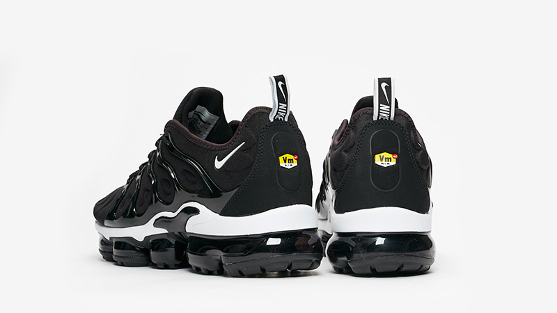 Nike Air VaporMax Plus Black White | 924453 011