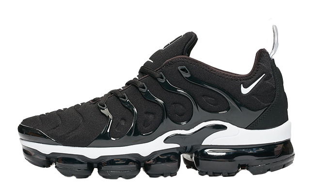 Nike Air VaporMax Plus Black White 924453-011 thumbnail image