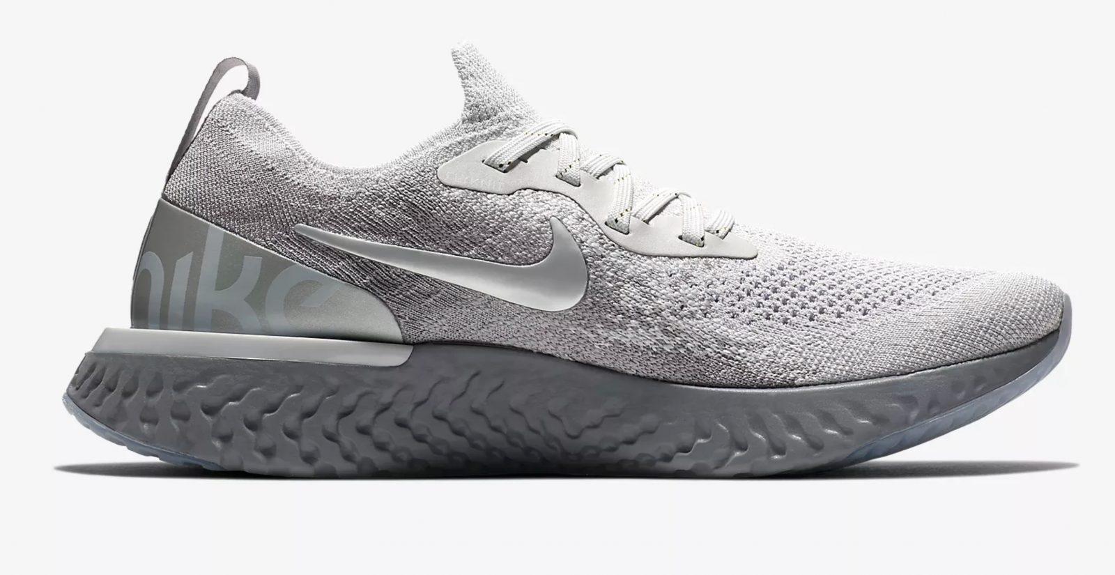 "best service 202b5 f0ab9 Nike Epic React Flyknit Premium Grey ""Metallic Pack"" | AV3048-070"