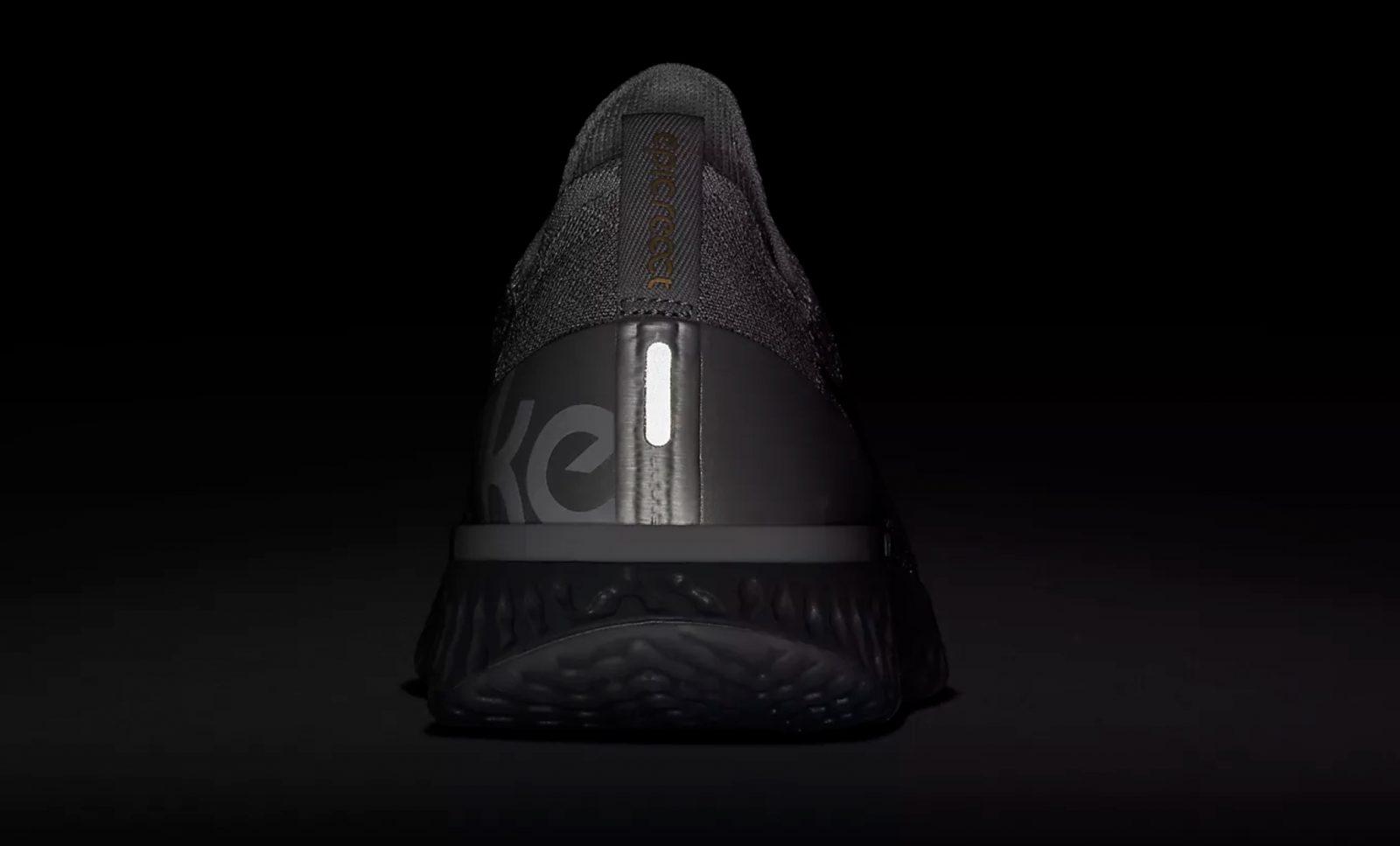9a7ae085aca3d Nike Epic React Flyknit Premium Grey