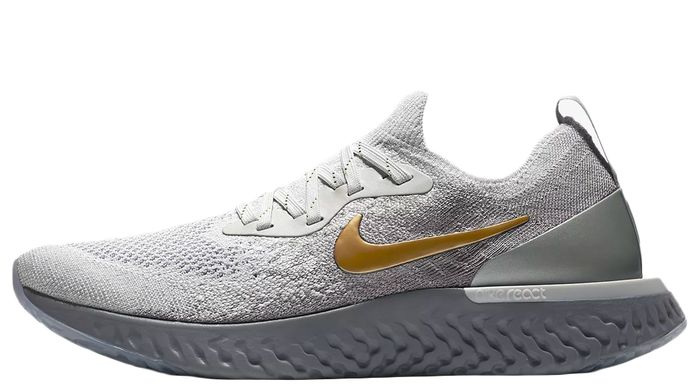 Nike Epic React Flyknit Premium Grey