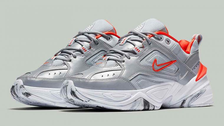 Nike M2K Tekno Silver White Womens BQ3378-001 03 thumbnail image