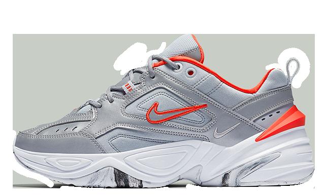 Nike M2K Tekno Silver White Womens BQ3378-001