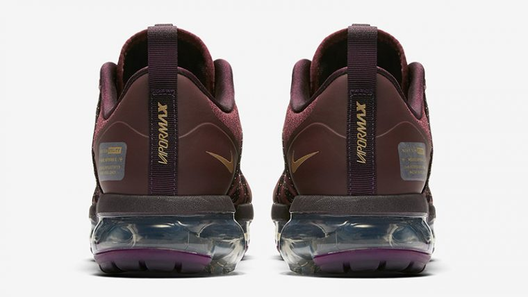 Nike Vapormax Run Utility Burgundy Womens AQ8811-600 01 thumbnail image