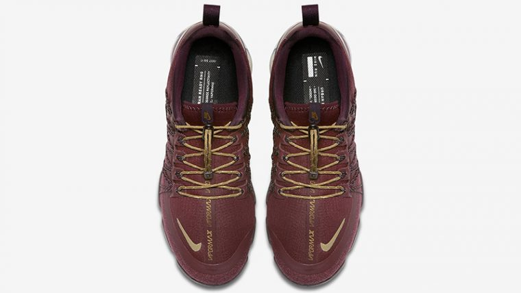 Nike Vapormax Run Utility Burgundy Womens AQ8811-600 02 thumbnail image